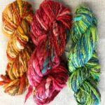 1.26 Handspunnet garn och Art yarn